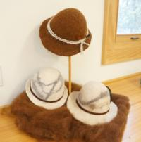Felted Alpaca Hat - Eco Justice Center